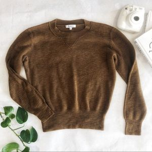 Madewell Cotton Blend Sweater Size Small EUC